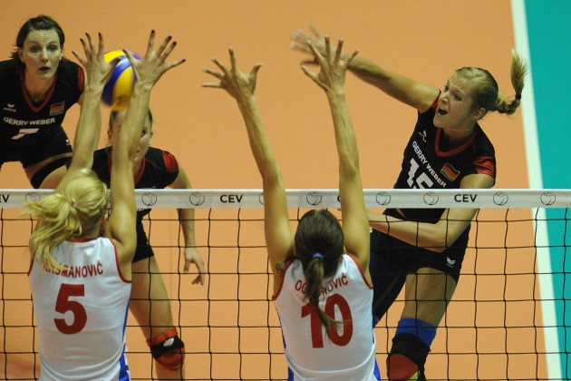 Women's Volleyball European Championship - Final: Serbia v Germany