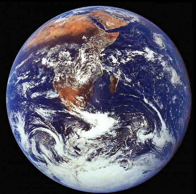 The Crew Of Apollo 17 Took This Photograph Of Earth In December 1972 While The Spacecraf