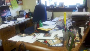 Kayla's Messy Desk