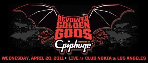 Revolver Golden Gods 2011