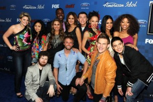 """American Idol"" Finalists 2011"