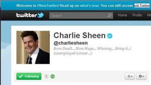 Charlie Sheen Twitter