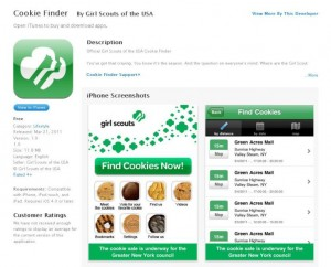 girl scout cookie app