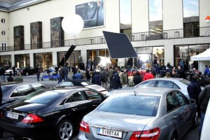 Tom Cruise Filming 'Knight & Day' In Salzburg