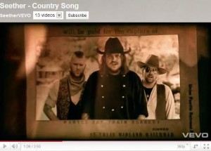 """Seether """"Country Song"""""""
