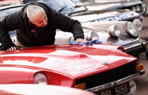 Competitors From All Over The World Prepare For The Start Of The Monte Carlo Rally