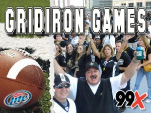 99X Miller Lite Grid Iron Games