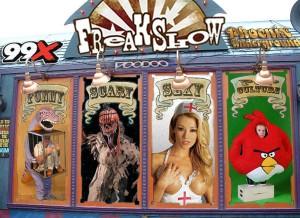 99X Freakshow from Phoenix Underground