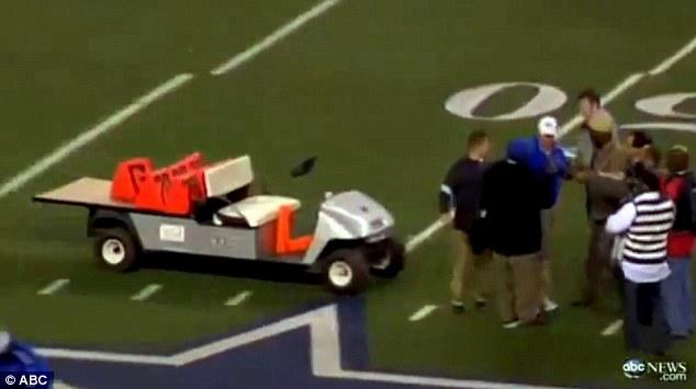 Runaway Golf Cart