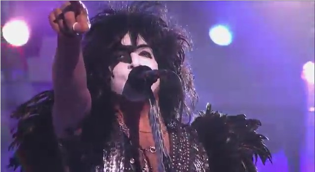 KISS on Jimmy Kimmell Live!