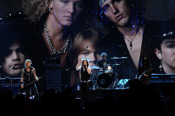 Guns 'N' Roses at the RHOF Induction Ceremony