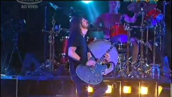 Foo Fighters in Brazil