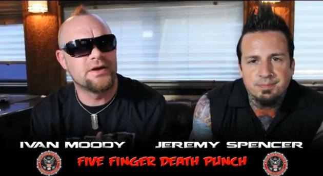 Five Finger Death Punch PSA