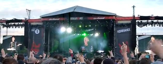 Metallica at Download 2012