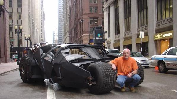 Tumbler on the street