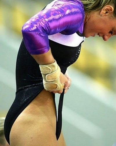 Olympic wardrobe malfunction