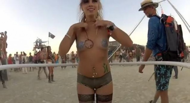 Burning Man Hula Cam