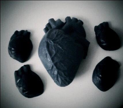 human heart soap