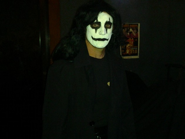 the crow costume
