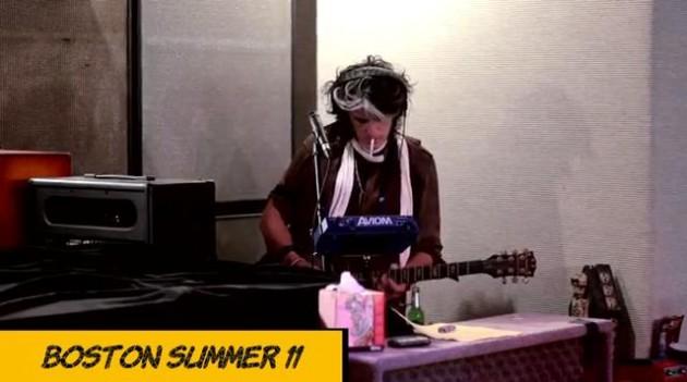 Aerosmith in the studio