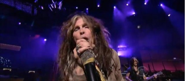 Aerosmith on The Late Show With David Letterman