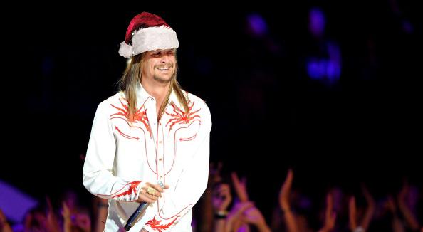 Kid Rock Santa