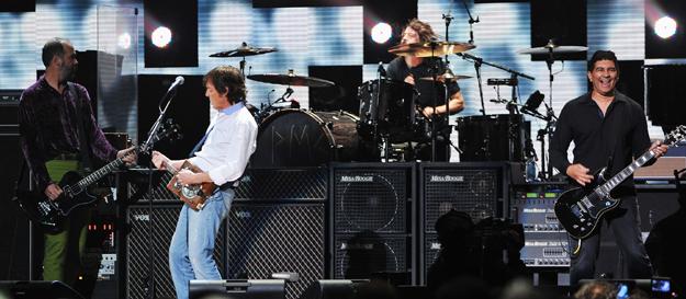 Paul McCartney with Nirvana