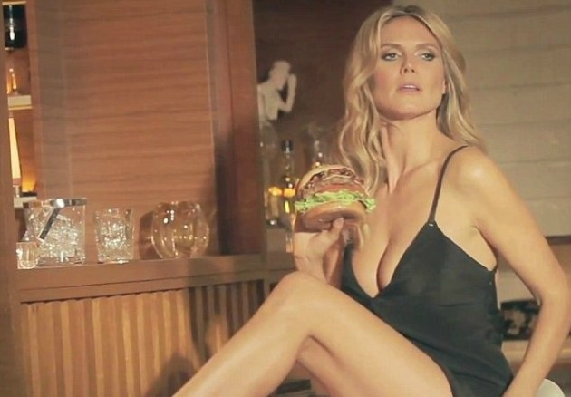 Heidi Klum for Carl's Jr.