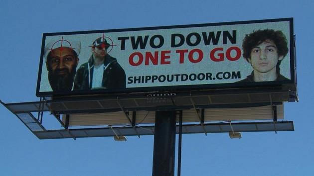 boston bombing suspects osama bin laden billboard