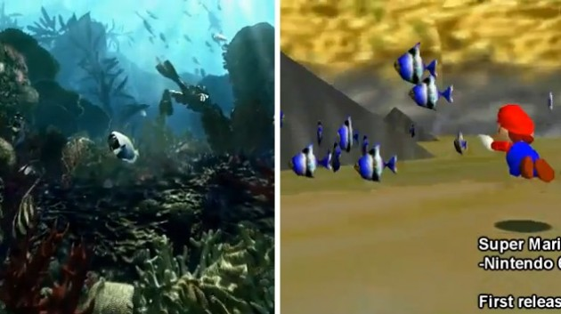 call of duty ghosts super mario 64 fish