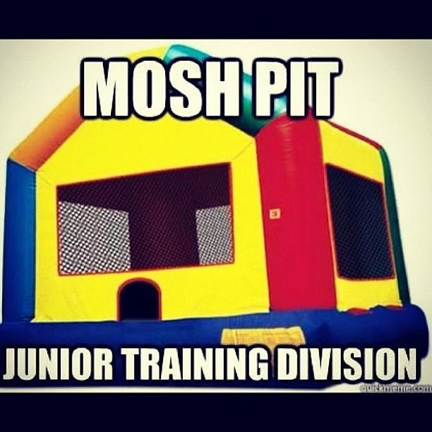 kids mosh pit
