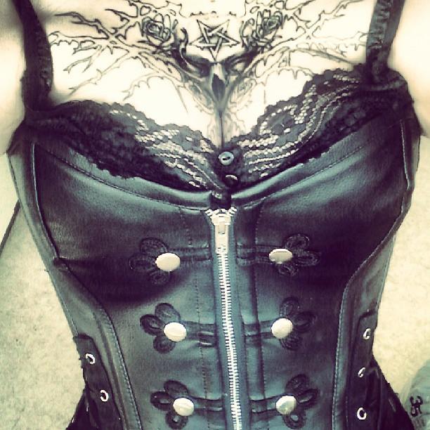 metal corset