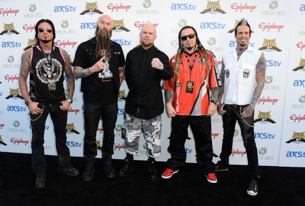 five finger death punch 2013 tour