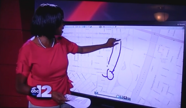 news reporter penis drawing