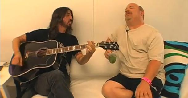 Dave Grohl and Kyle Gass