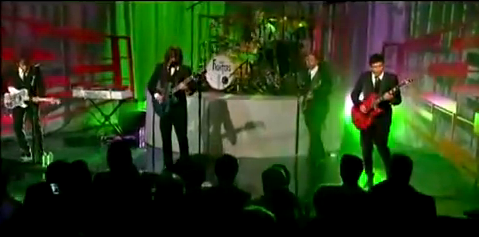 Foo Fighters Live on Letterman