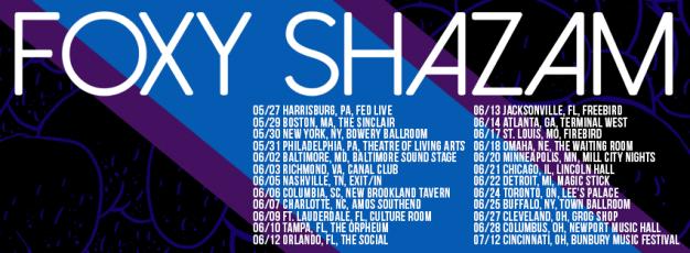 Foxy Shazam Tour Dates