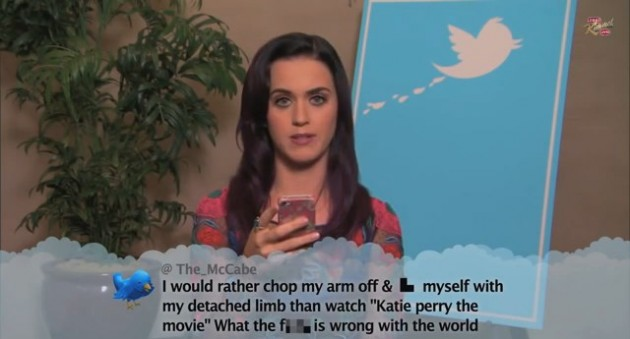 "Jimmy Kimmel ""Celebrities Read Mean Tweets"""