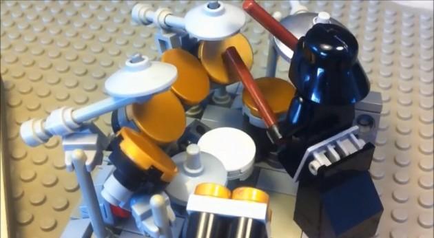 Lego Darth Drummer