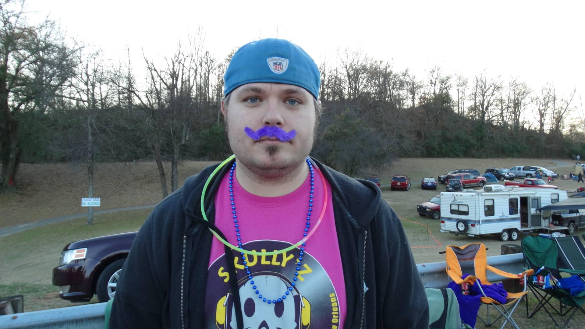 Greg At Mardi Gras