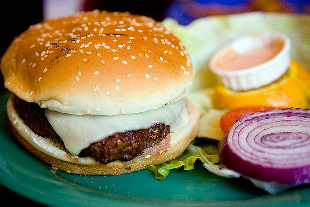 Blackened Burger