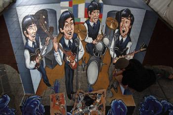 3D Beatles Artwork