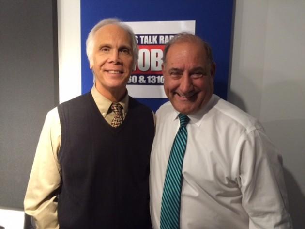 Senator Chris Conners with Tom Mongelli