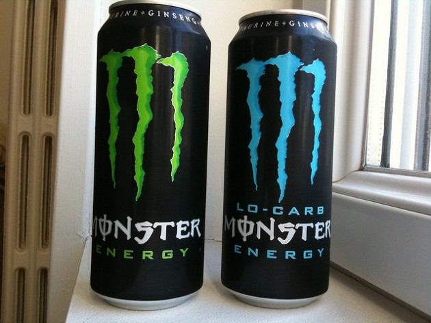 2 Cans of Monster Energy
