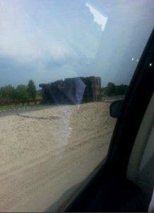 GSP Truck Accident