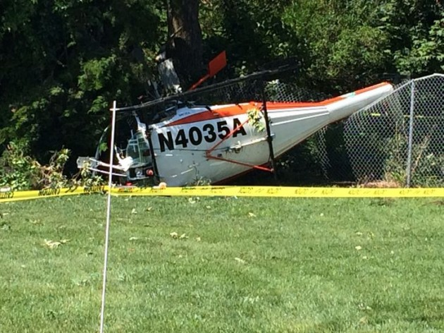Helicopter Crash Middle Township