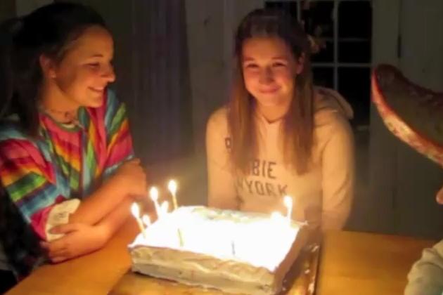 Megan Birthday Cake Prank