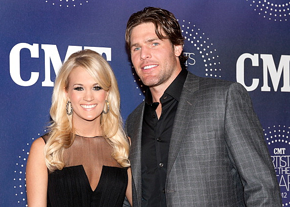 Carrie underwood says husband mike fisher will never cheat for Carrie underwood husband mike fisher