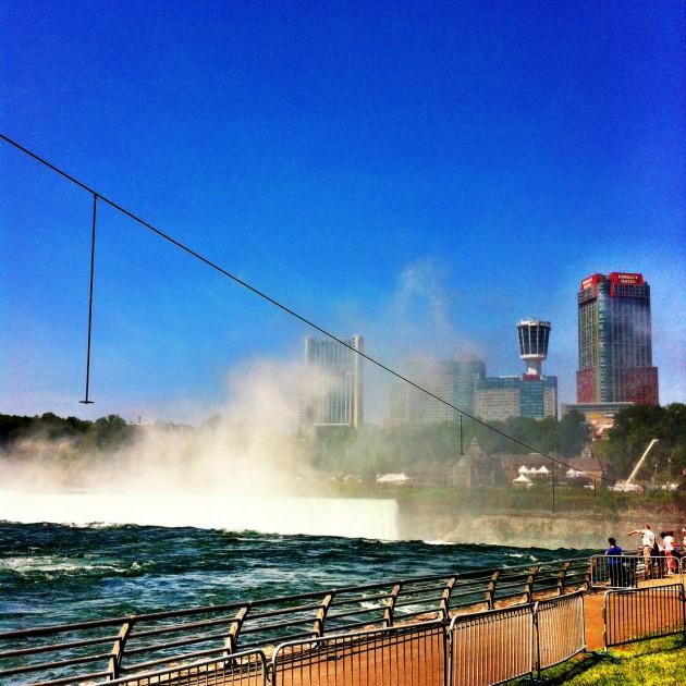 Niagara Falls tightrope
