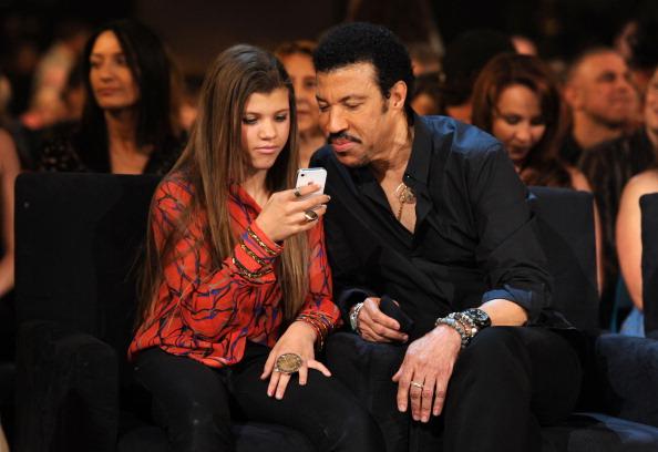 Lionel Richie and Sofia Richie  Getty Lionel Richie Girlfriend 2013